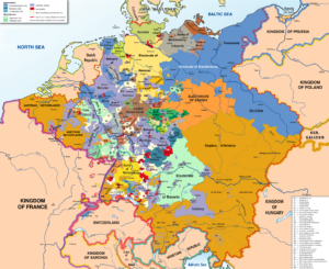 Holy Roman Empire in 1789