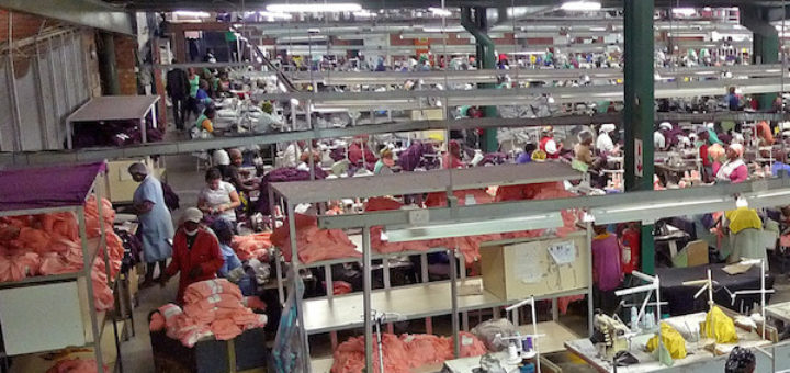 Chinese-owned textile factory